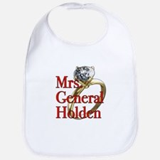 Mrs. General Holden Army Wives Bib