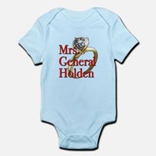 Mrs. General Holden Army Wives Infant Bodysuit