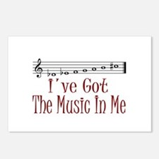 The Music In Me Postcards (Package of 8)