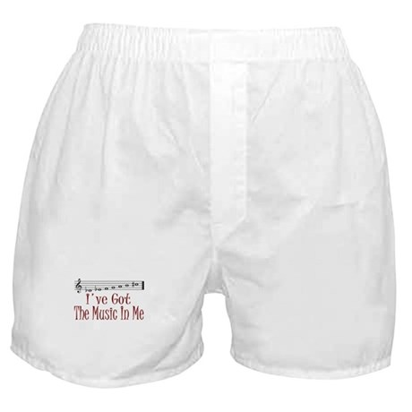 The Music In Me Boxer Shorts