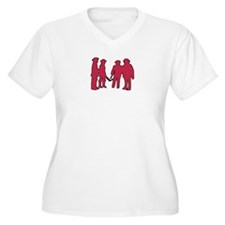 4 Musketeers (Rouge) T-Shirt