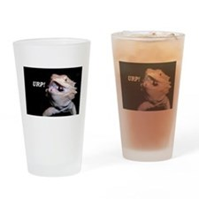 Beardie Burps! Drinking Glass