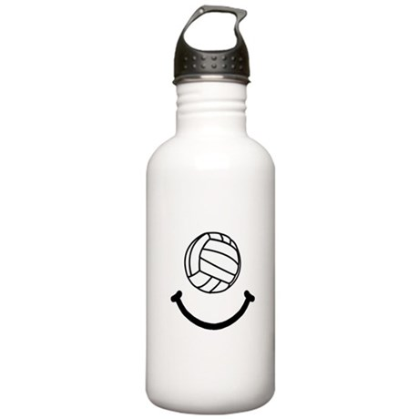 Volleyball Smile Stainless Water Bottle 1.0L