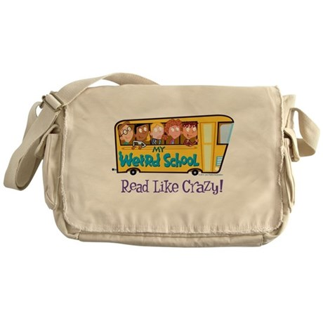 Read Like Crazy! Messenger Bag