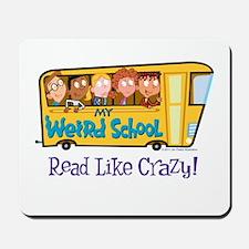 Read Like Crazy! Mousepad