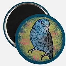 Blue Parrotlet Art Magnet
