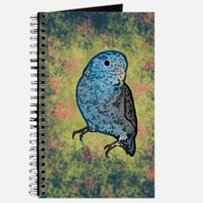 Blue Parrotlet Art Journal