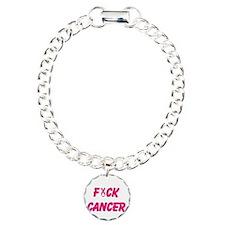 Unique Fuck cancer Bracelet