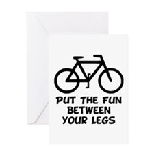 Bike Fun Greeting Card