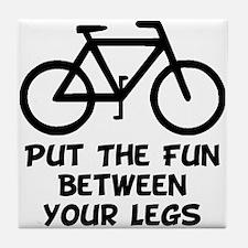 Bike Fun Tile Coaster