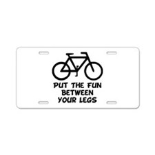 Bike Fun Aluminum License Plate