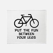 Bike Fun Throw Blanket