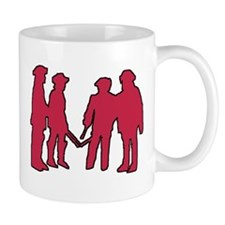 4 Musketeers (rouge) clear bc Mug