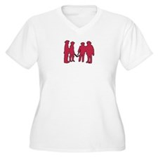 4 Musketeers (rouge) clear bc T-Shirt