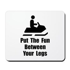 Snowmobile Fun Mousepad