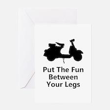 Scooter Fun Greeting Card