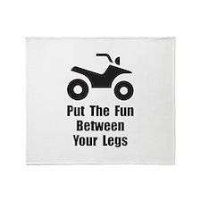 ATV Fun Throw Blanket