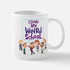 I Love My Weird School! Mug