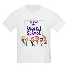 I Love My Weird School! T-Shirt