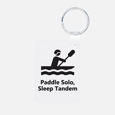 Solo Paddle Keychains
