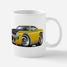 1970 AAR Cuda Yellow Car Mug