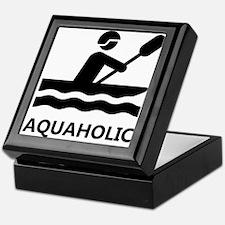 Aquaholic Keepsake Box