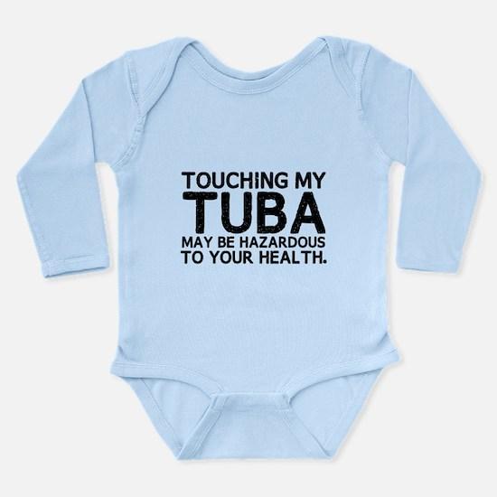 Tuba Hazard Long Sleeve Infant Bodysuit
