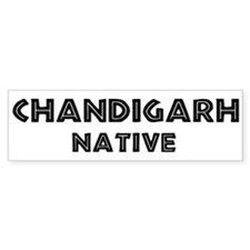 Chandigarh Native Bumper Bumper Sticker