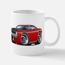 1970 AAR Cuda Red Car Mug