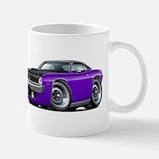 1970 AAR Cuda Purple-Black Car Mug