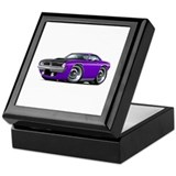 1970 aar cuda Square Keepsake Boxes