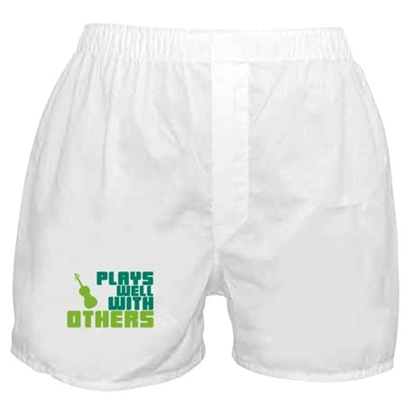 Plays Well With Others Boxer Shorts