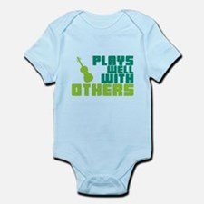 Plays Well With Others Onesie