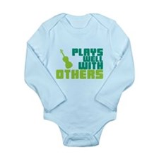 Plays Well With Others Long Sleeve Infant Bodysuit