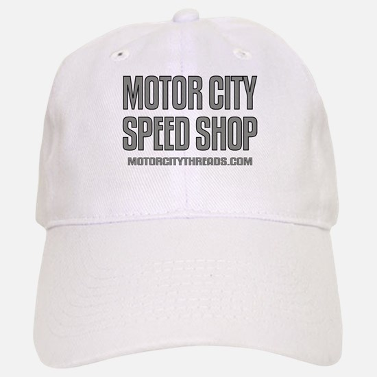 Motor City Speed Shop Logo Baseball Baseball Cap