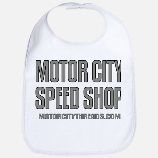 Motor City Speed Shop Logo Bib