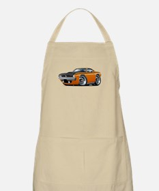 1970 AAR Cuda Orange Car Apron