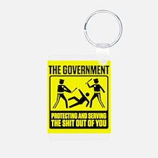 Cute Free liberal Keychains