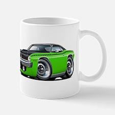 1970 AAR Cuda Lime-Black Car Mug