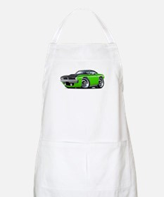 1970 AAR Cuda Lime-Black Car Apron