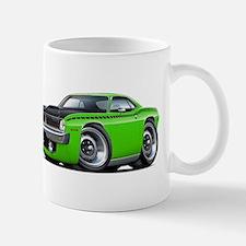 1970 AAR Cuda Lime Car Mug