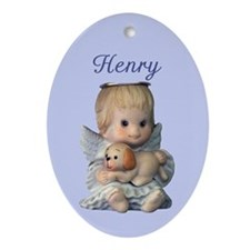 Henry Ornament (Oval)