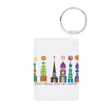 Cute Religious tolerance Keychains