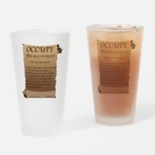 Funny 99 percent Drinking Glass