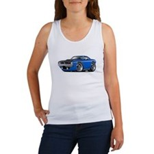 1970 AAR Cuda Blue Car Women's Tank Top