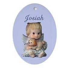 Josiah Ornament (Oval)