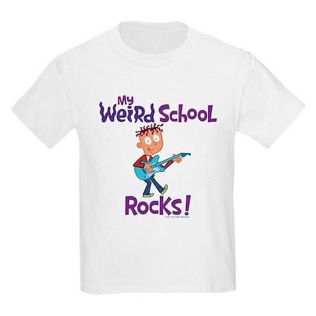 My Weird School Rocks! Kids Light T-Shirt