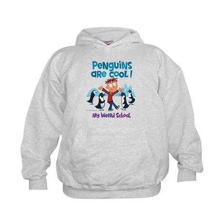 Penguins Are Cool! Kids Hoodie
