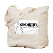 Plane Fun Geometry Tote Bag