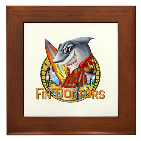 Dr. Shark Framed Tile